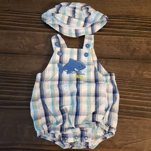 Other - Baby boy sunsuit and sun hat